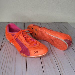 Puma Hot Pink Women's Spiked Cleats